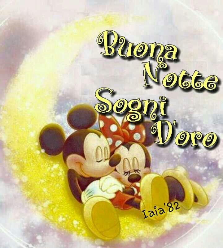 Famoso Immagine buonanotte amore Disney BA41