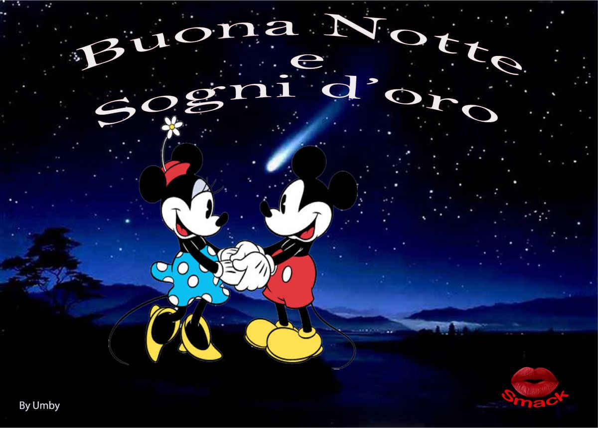 Buonanotte Romantica Disney Topolino E Minnie