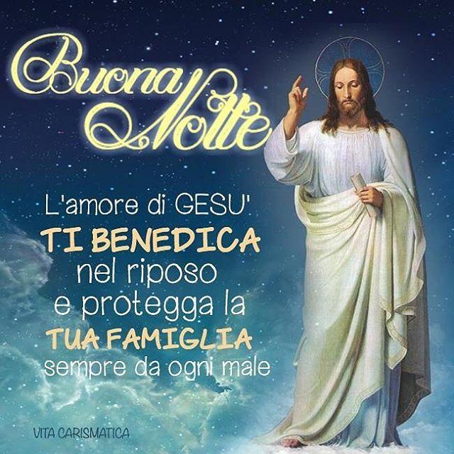 Top Buonanotte Gesù con preghiera WH84