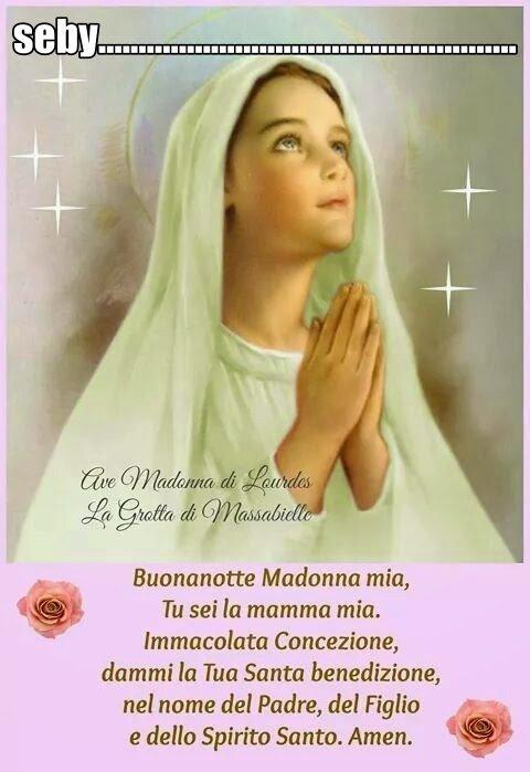 Immagine Buonanotte Madonna