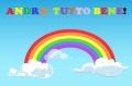 andra-tutto-bene-corona-virus-arcobaleno-colori-nuvole-cielo-blu-italia-covid19