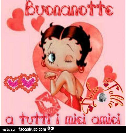 Immagine Buonanotte Divertente Betty Boop