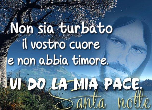 Immagine Buonanotte Bellissima Religiosa Gesu