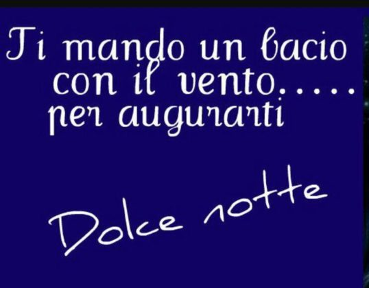 Dolce Notte Con Frase