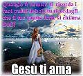 gesu-ti-ama-immagine-della-buonanotte-gratis