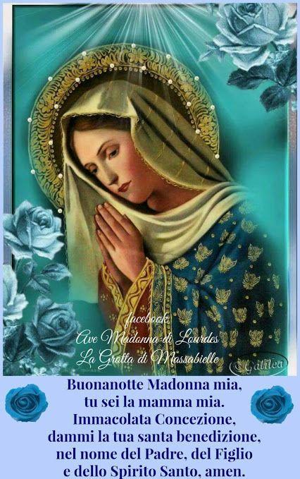 Buonanotte Madonna E Preghiera
