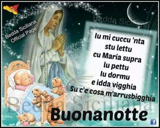 Buonanotte Madonna E Gesù Bambino