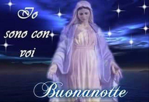 Immagine Buonanotte Madonna Facebook