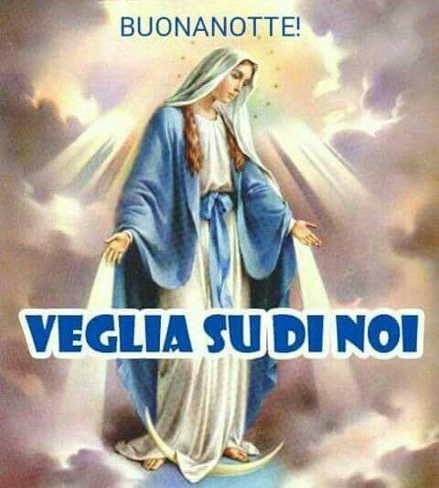 Immagine Buonanotte Madonna Bellissima